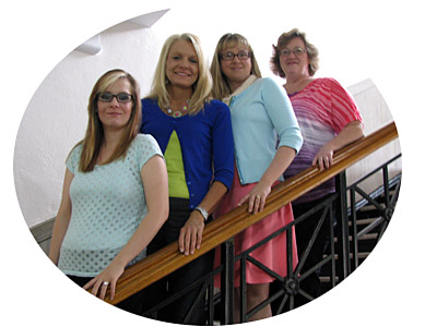 Crislyn Cooksey, Sherry Parks (County Clerk), Shannon Jones, Candie Skipper